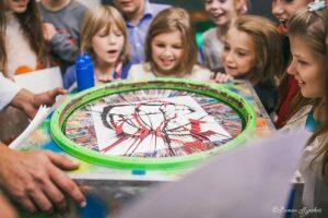 научное шоу на детский день рождения в ландауцентре